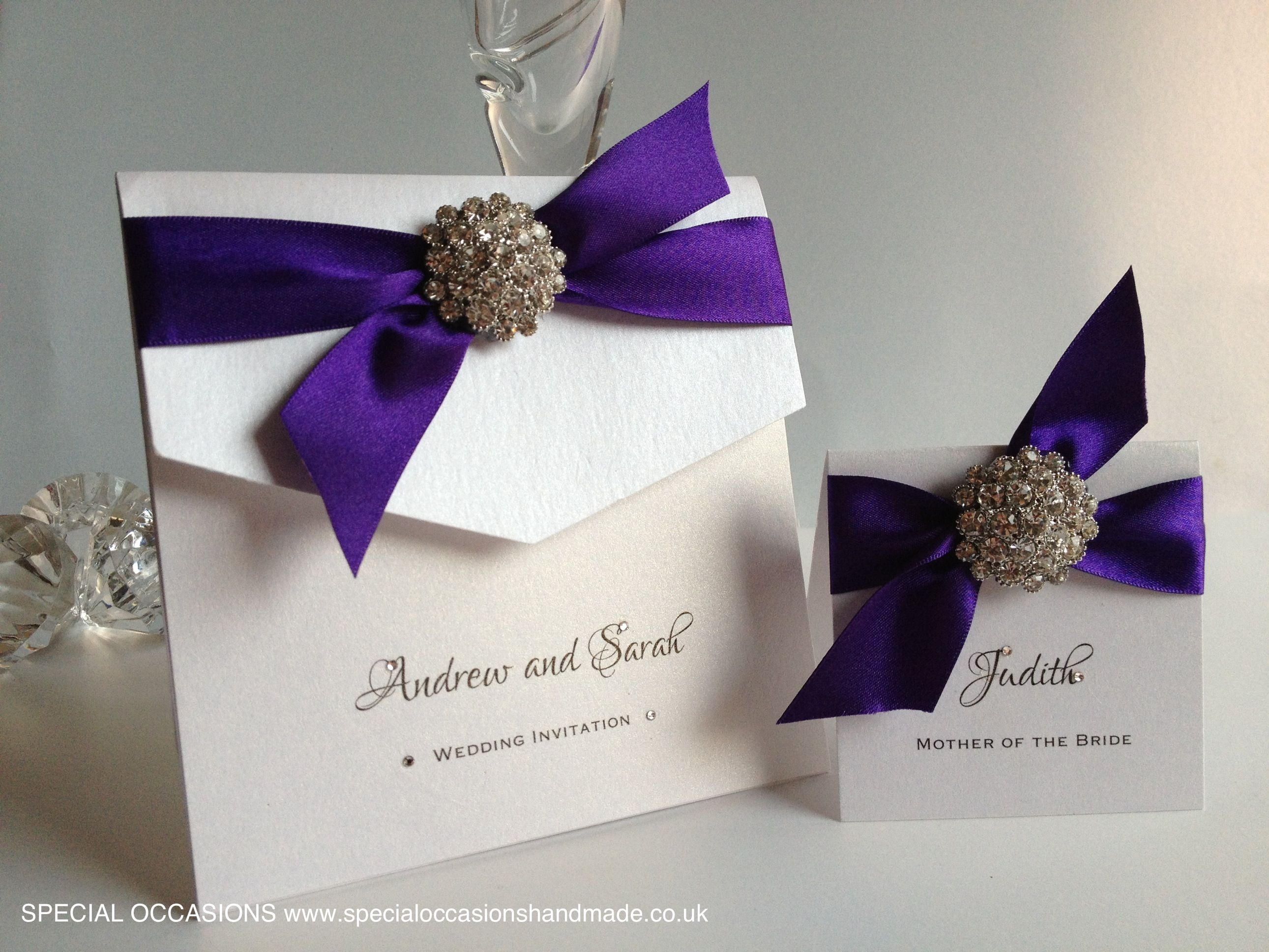 Over ribbon colours to choose from small accent crystals are