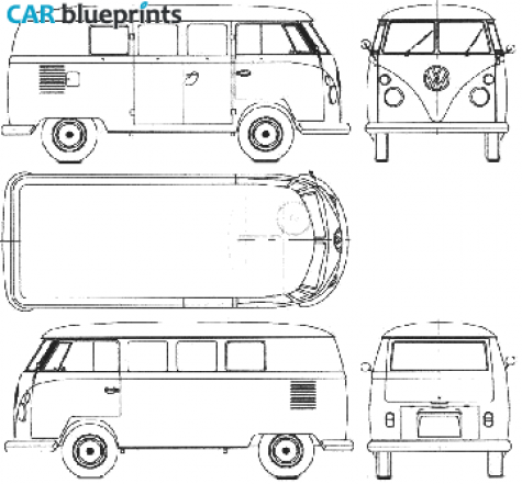 Dibujo De Furgoneta Volkswagen Buscar Con Google Furgonetas Volkswagen Volkswagen Furgoneta