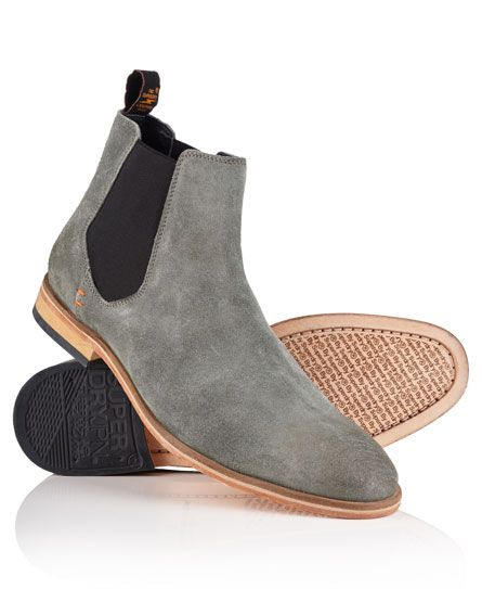 ecea7b2f0 Superdry Meteor Chelsea Boots | S T U F F | Ankle boots men, Suede ...
