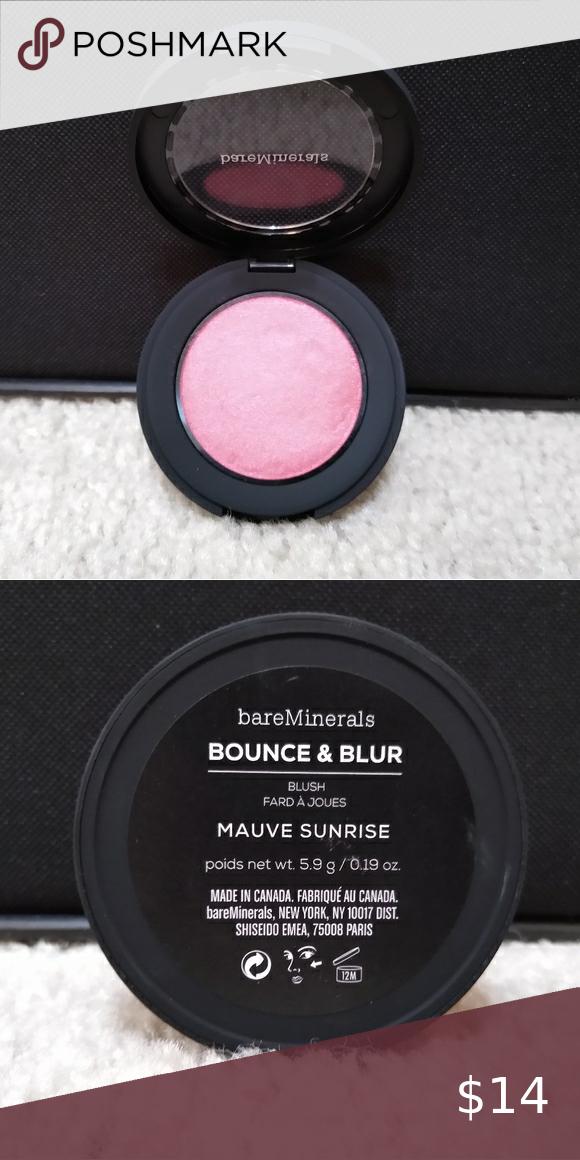 My Posh Picks Blush Bare minerals bounce and blur blush in