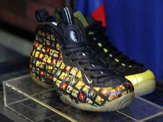 6218b9996a043d Nike Foamposite Comic Strip. Nike Foamposite Comic Strip Jordan Shoes ...