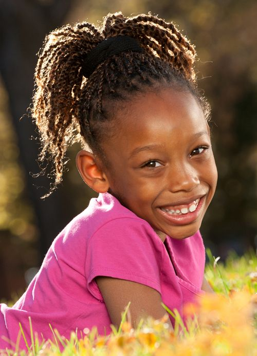 Cute Braiding Hairstyles For Little Black Girls Kids
