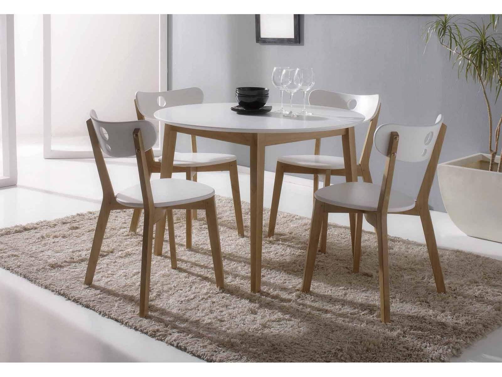 Conjunto de mesa redonda y sillas,perfecto para cualquier ...