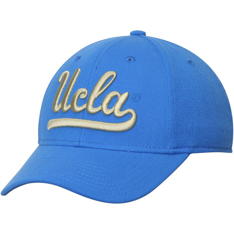 f4629e28889 UCLA Bruins adidas Basic Structured Flex Hat - Blue