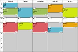 schedule maker free online
