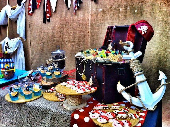 Pirate Themed Birthday Party Planning Decor Ideas Cake Idea Pirate Themed Birthday Party Pirate Themed Birthday Pirate Birthday