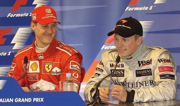 Shumi and Kimi's FIRST pole position