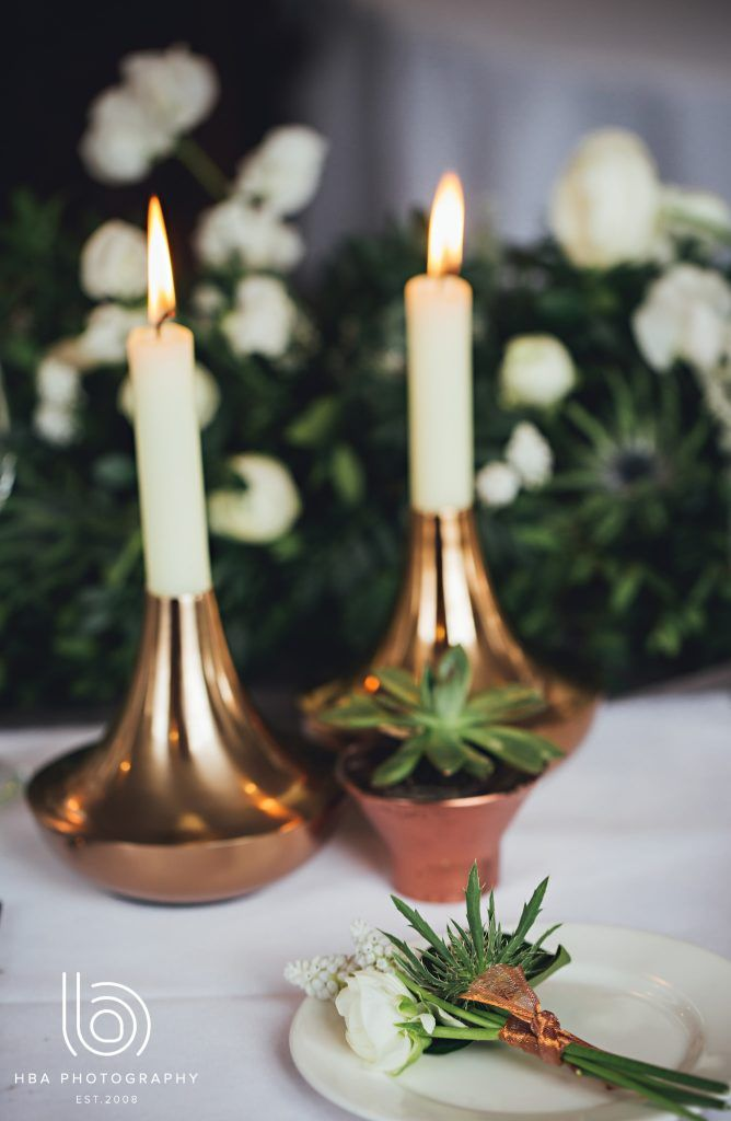 Urban & Organic Industrial Wedding Inspiration - The West Mill - Exclusive, No Corkage Wedding Venue, Derbyshire | Images: HBA Photography