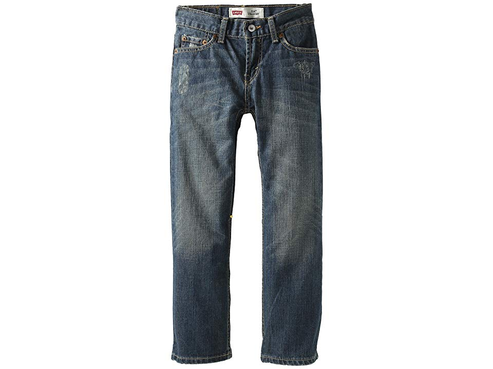 Levisr Kids 514tm Straight  Slim Big Kids Atlas Boys Jeans The 514 Slim Straight has now become the 514 Straight Its your same favorite fit with an updated name Please no...