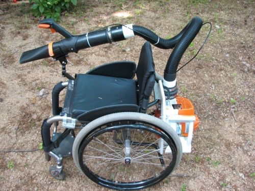 Wheelchair Leafblower Assistive Technology Design