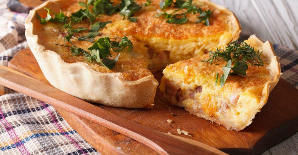 Easy Quiche Lorraine Recipe Easy Quiche Fluffy Quiche Recipe Quiche Recipes