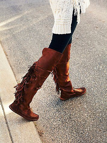 Carpario Tall Moccasin, Free People. $388.