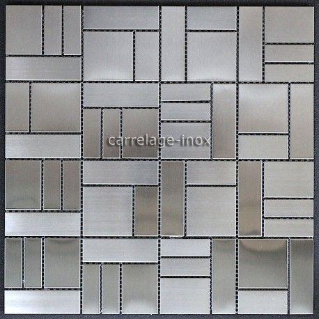 Carrelage Cuisine Inox Credence Inox Mosaique Cm Erato Carrelage Mosaique Carrelage Inox Credence Inox Carrelage