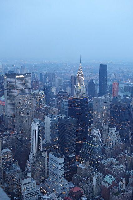 QX100 Photo - New York City Skyline - Chrysler Building Dusk | Flickr - Photo Sharing!