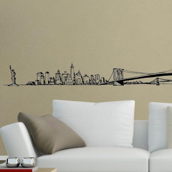 "Wall Sticker ""All New York"""