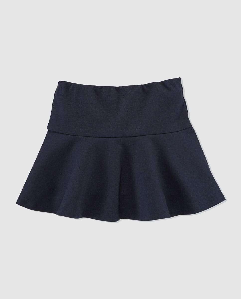 a6989905c Falda de vuelo de niña Polo Ralph Lauren azul marino | be yeu ...