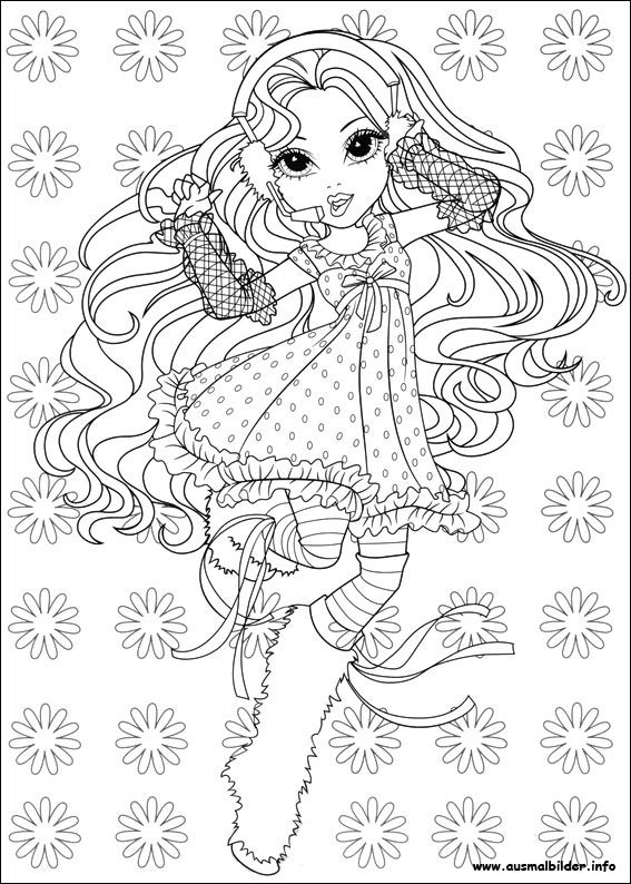 Moxie Girlz Malvorlagen Coloring Pictures Coloring Pages Pattern Coloring Pages