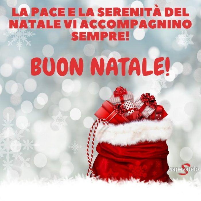 La Pace E La Serenità Del Natale Vi Accompagni Per Sempre