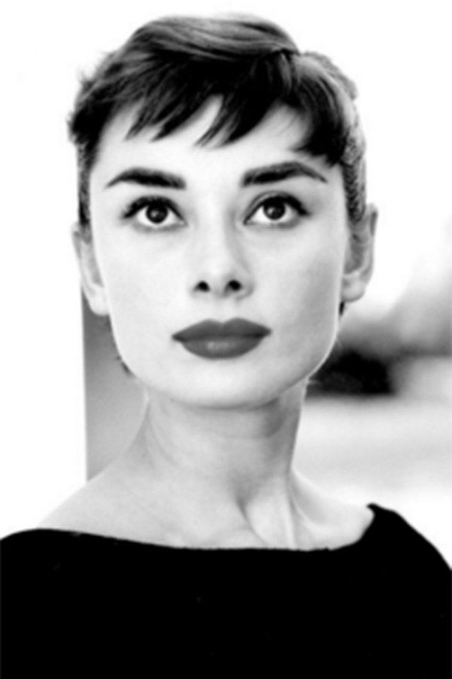Fringe Hairstyles The Best Celebrity Bangs Of All The Land Audrey