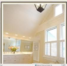 Pin By Sally Stevenson On Bathrooms Vaulted Ceiling