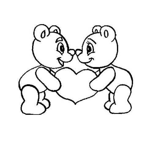Desenhos de Urso para Pintar: Ted, Puff, Kung Fu Panda | imprimir ...