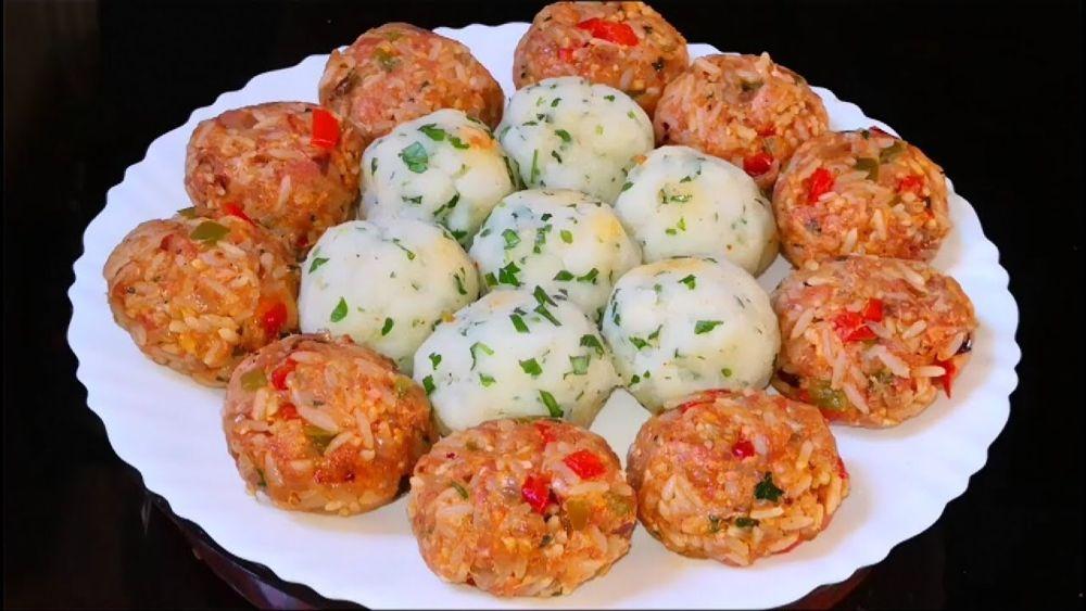 الأكلة التي ستحقق نجاحا كبيرا جديد كراتان بكرات البطاطس والأرز ستأكلون أصابعكم من لذتها Youtube