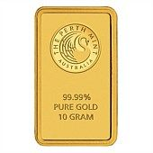 Perth Mint 10g Minted Gold Bar Buy Gold And Silver Gold Investments Gold And Silver Coins