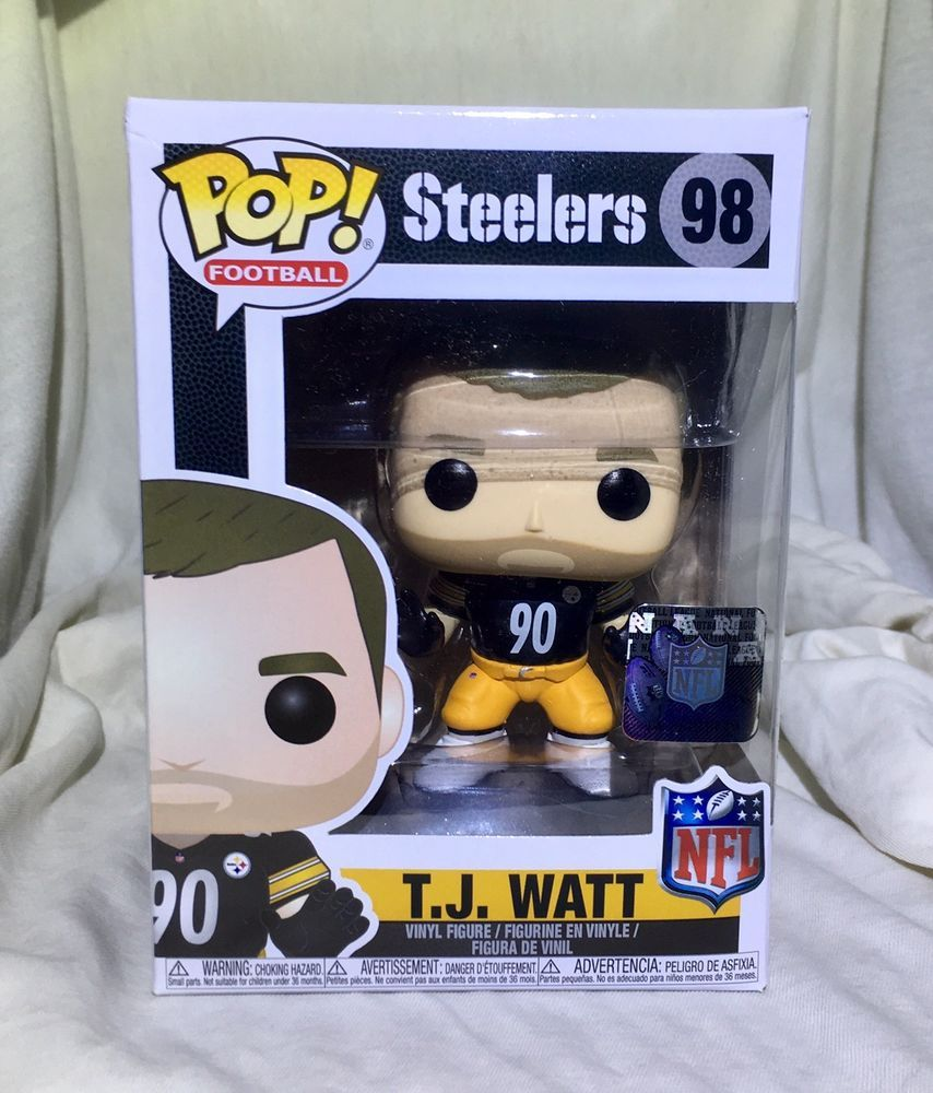 Details about Funko Pop! Football NFL T.J. Watt
