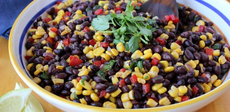 cool Easy Sweet Corn & Black Bean Salad