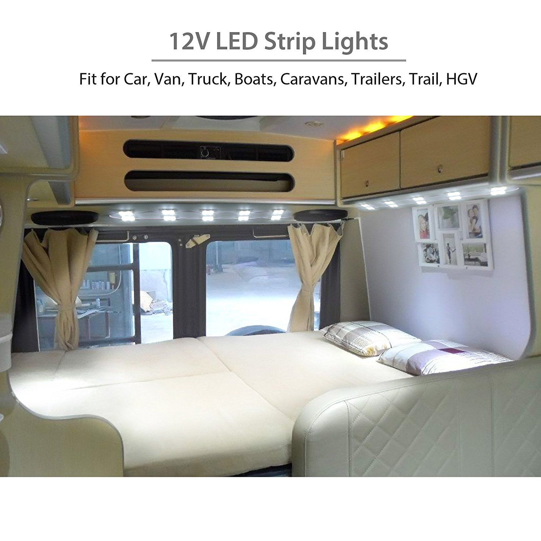LED Strips for Camper #camper #campervan #car #outdoor #lifestyle