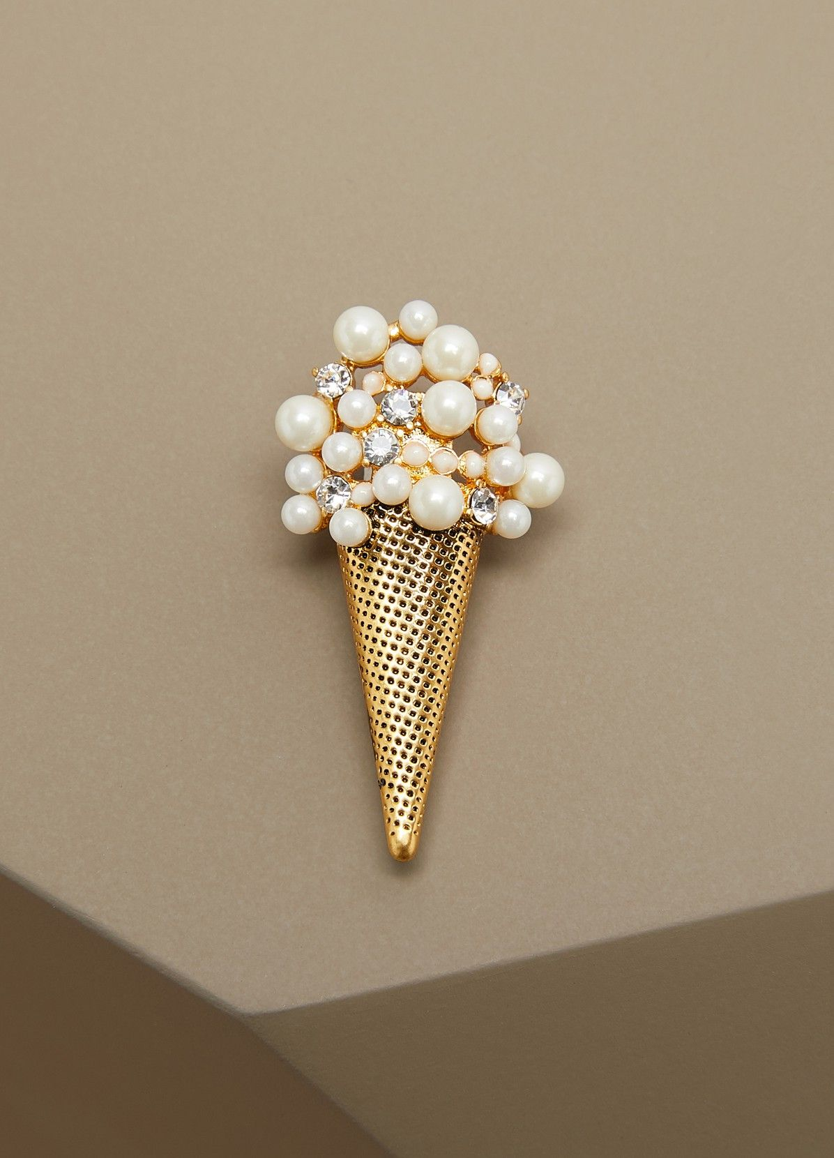 Marc Jacobs Brooch and Pin for Women, Antique Silver, Brass, 2017, One Size