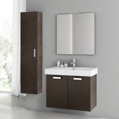 Bathroom Vanity Acf C42 28 Inch Wenge Bathroom Vanity Set C42 Single Bathroom Vanity Vanity Set With Mirror Double Vanity Bathroom