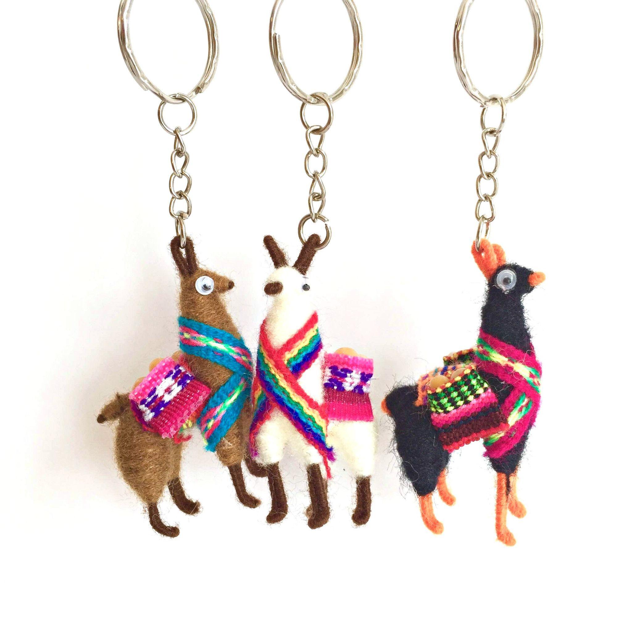 Llama Key Ring Keyring Alpaca Gift Accessory Keychain HD5l4so
