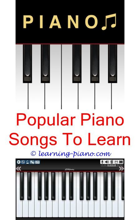 Cool piano songs to learn for beginners.How long does it ...