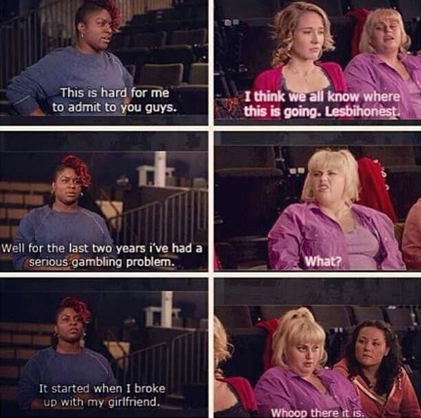 Omigosh I Love Pitch Perfect Fat Amy Is Hillar Whoop There It Is