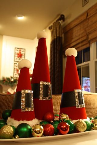 Do it yourself santa hats christmas cheer pinterest santa do it yourself santa hats solutioingenieria Images