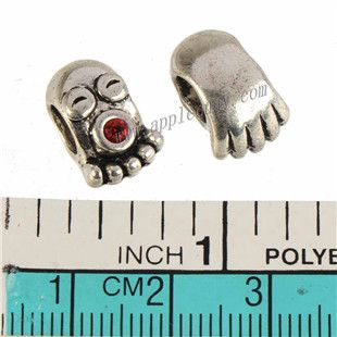 Zinc Alloy Animal Large Hole Beads,Inkfish,Rhinestones Setting,Plated,Cadmium And Lead Free,Various Color For Choice,Approx 14*9*8mm,Hole:Approx 5mm,Sold By Bags,No 010128