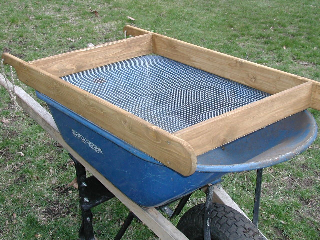 compost sifter | Compost | Pinterest | Composting, Gardens and ...