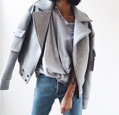 Newchic Suede Zipper Lapel Coat