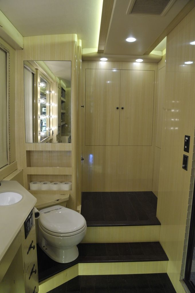 Inside Of The Big Tour Bus | My Dream | Pinterest | Rv And Bus Conversion