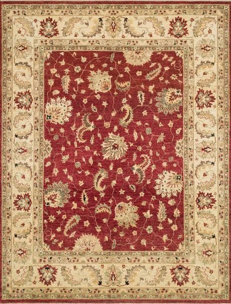 Loloi Majestic Mm 04 Red Ivory Area Rug Floral Rug Elegant Homes Loloi