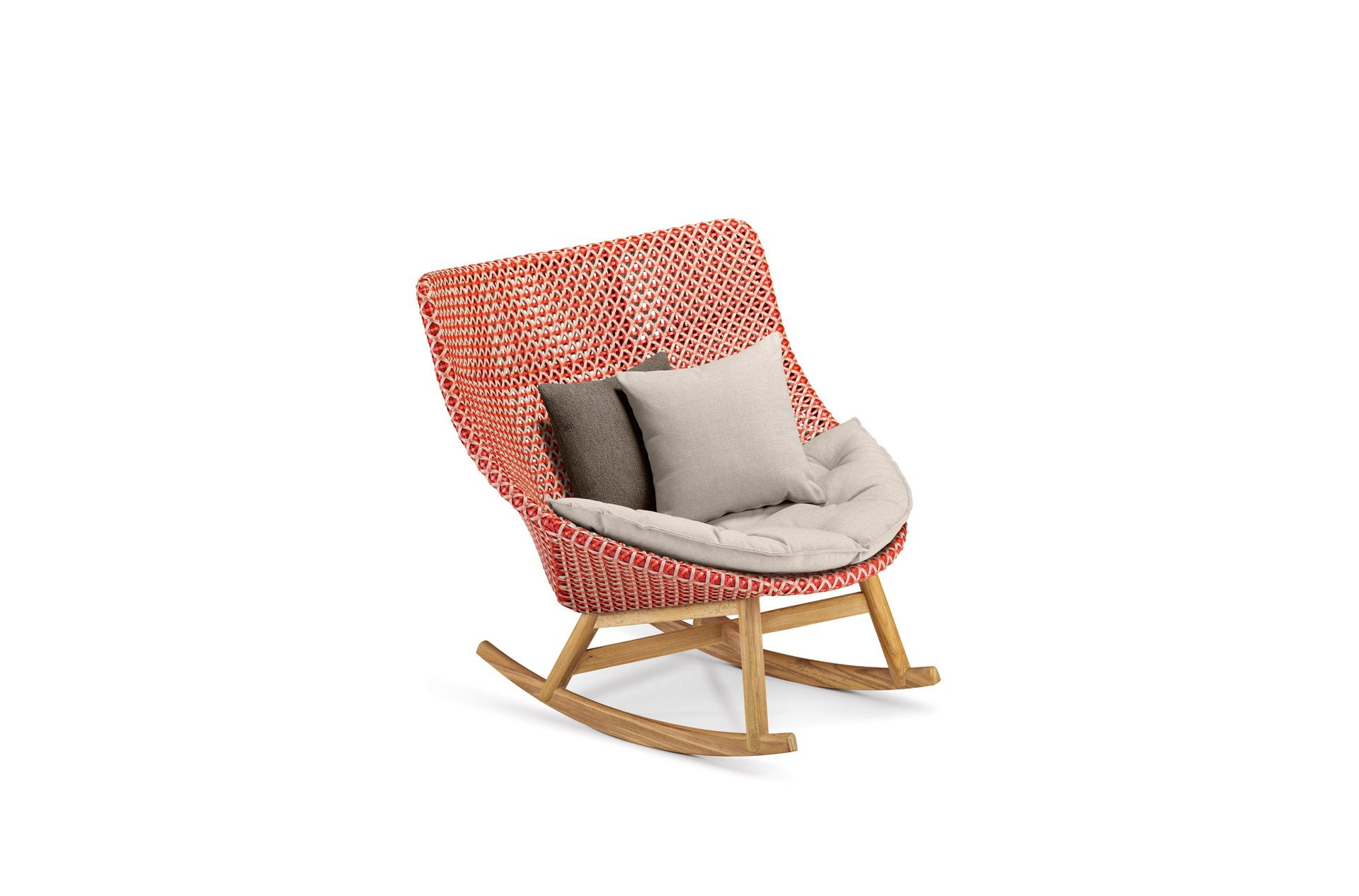 Dedon Mbrace Rocking Chair Rocking Armchair Rocking