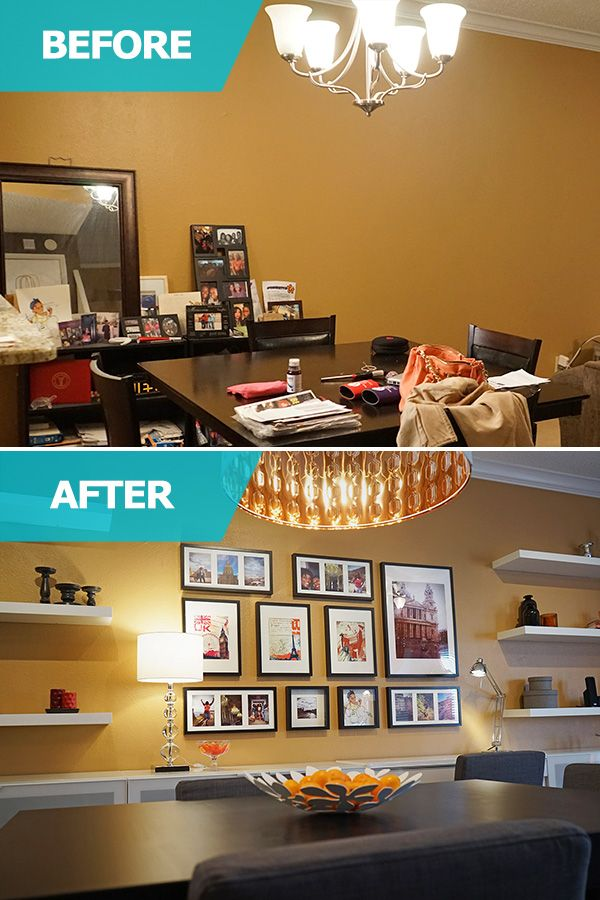 The IKEA Home Tour Helped Johnetta To Revamp Open Space That Served As Her Living Room Dining And Workspace She Needed Lots Of Storage