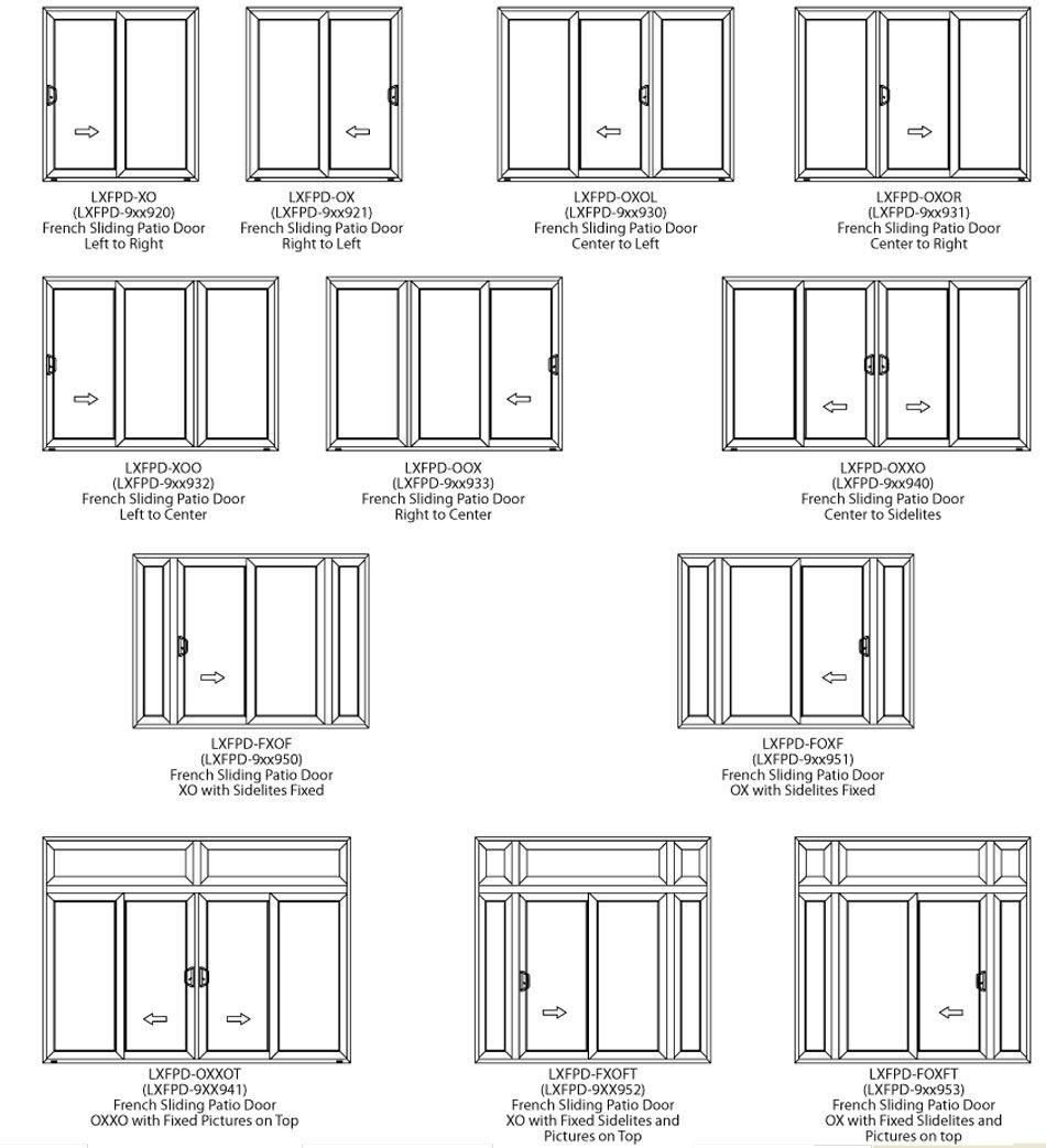 French Patio Doors Sizes Httpbukuweb Pinterest French