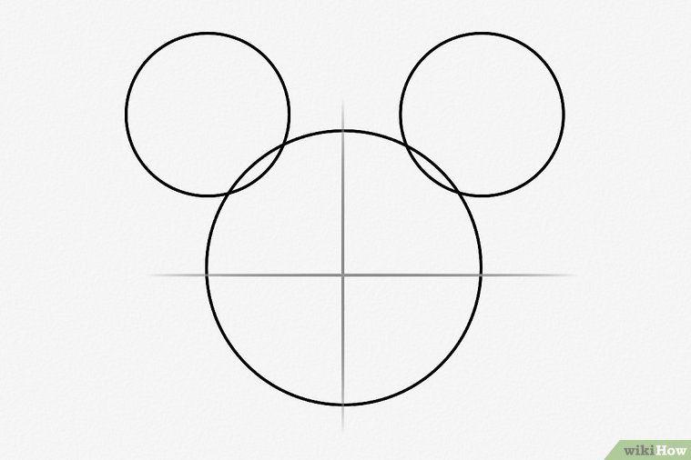 3 Manieres De Dessiner Mickey Mouse Comment Dessiner Mickey Mouse Dessin