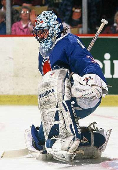 Quebec Nordiques Goalie Quebec Nordiques Goaltending History Stephane Fiset Nhl Hockey Ice Hockey Hockey Goalie