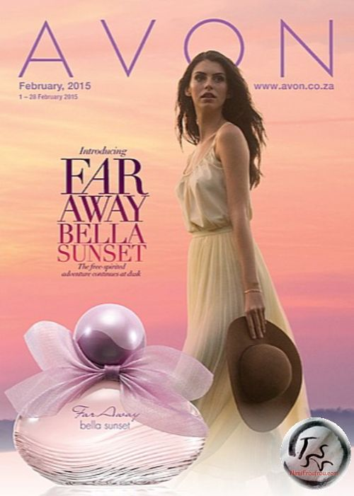Avon Far Away Bella Sunset (2015) The fragrance is distributed regionally. The UK, Spain and South Africa are among the markets which will receive it