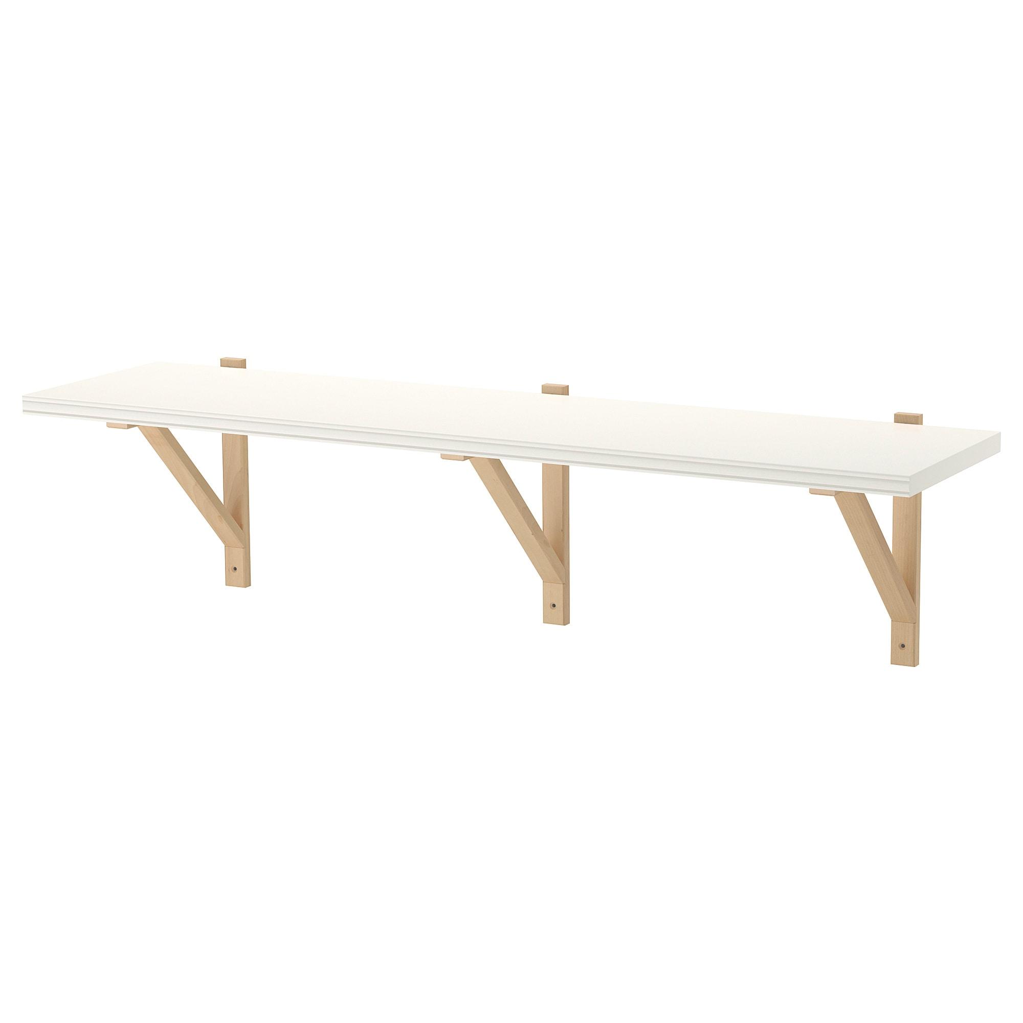 Ikea Us Furniture And Home Furnishings Wall Shelves Ikea Solid Wood Shelves