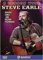 Lesson with Steve Earle: Guitars, Songs and Picking Techniques