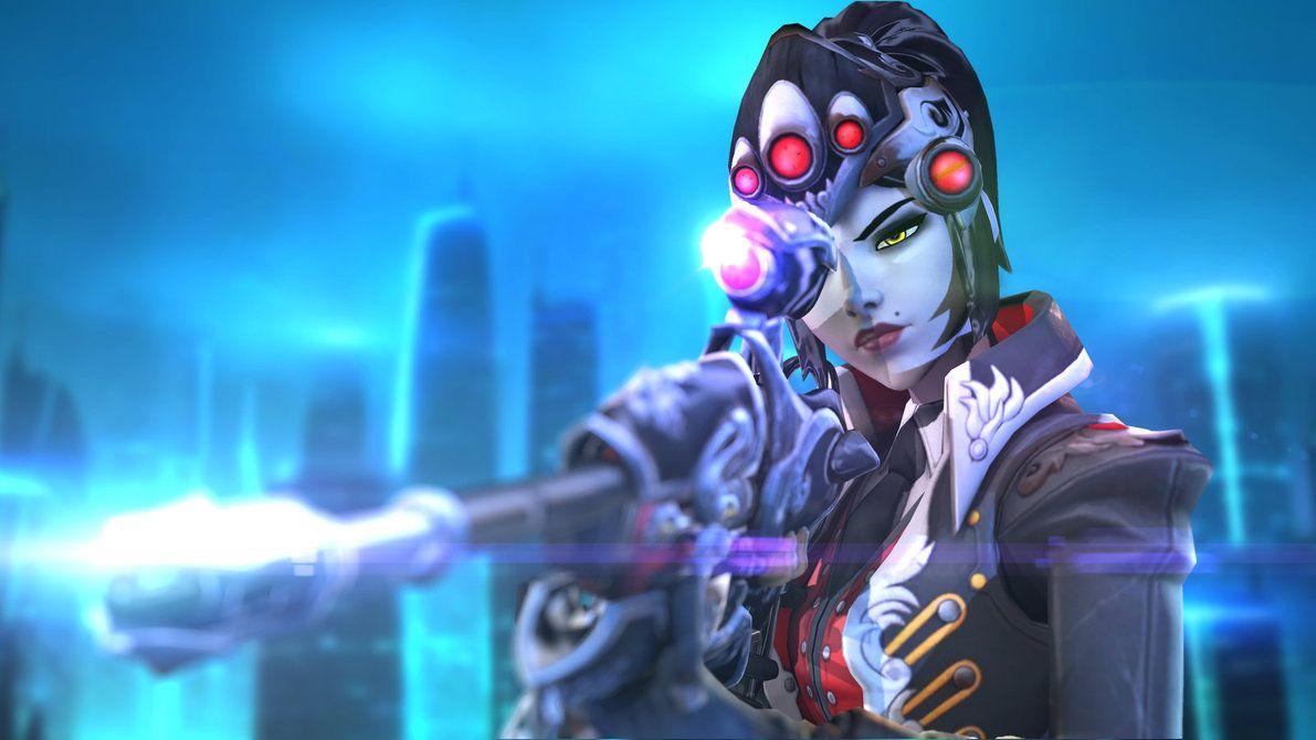 Widowmaker Huntress By Hicky22 Widowmaker Overwatch Widowmaker Overwatch